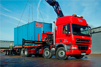 Flexible rear-steer DAF helps raise productivity at Speedy
