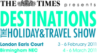 Destinations Holiday and Travel Show