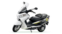 Suzuki Fuel-Cell Scooter earns Whole Vehicle Type Approval