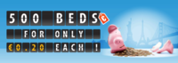 HostelBookers announces beds for €0.20 in 10 cities