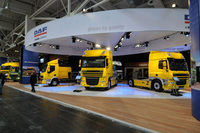 Strength in depth for DAF at 2011 CV Show