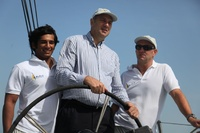 Sir Steve Redgrave sets sail in Abu Dhabi