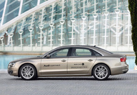 Audi A8 L prototype gets state-of-the-art broadband connection