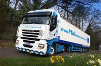 European Trunking for PTM International's first Iveco Stralis