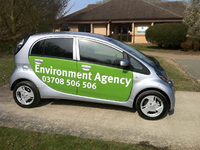 Environment Agency goes pure electric with Mitsubishi i-MiEV