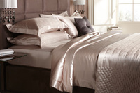 Go nude in the bedroom - Gingerlily's natural silk bed linen