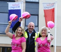 Taylor Wimpey in Corstorphine raises funds for breast cancer