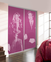 Kate & Will's commemorative Royal Wedding sliding doors