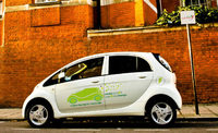 Carmarthenshire County Council unveil Mitsubishi i-MiEV