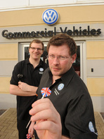 Play world championship darts with Volkswagen at the CV Show