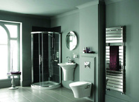 Aster heated towel rail