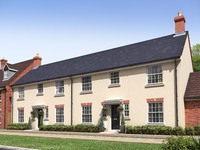 An artist's impression of the four-bedroom 'Hillier' housetype