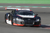 DTM stars at wheel of the Audi R8 LMS