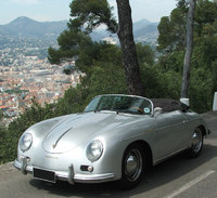Vintage car rental on the French Riviera