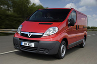 Vauxhall vans top retail sales chart