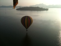 Hot air balloon weddings in Sri Lanka