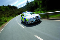Police-spec Vauxhall in Single Vehicle Architecture first