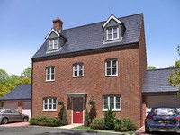 An artist's impression of a typical Taylor Wimpey housetype.