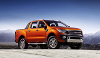 Ford Ranger pick-up - tough, powerful, frugal, smart and safe