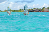 Surf's up at Olhuveli Beach & Spa Resort, Maldives