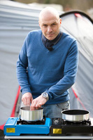 Cooking camping style with Simon Rimmer