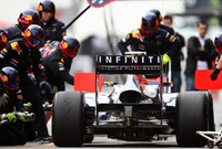 Infiniti joins Red Bull Formula One Show Run Torino 2011