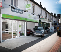 Green car hire operation expands into South London