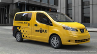 Nissan NV200 selected as New York City's taxi provider