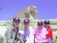 Half term family adventure in Egypt