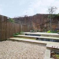 The Holbeck Row cottage also features a spacious garden.
