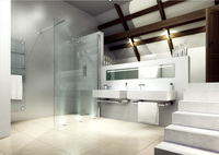 Merlyn Showering stylish frameless shower enclosures
