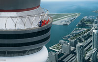 Extreme new attraction at Toronto's CN Tower