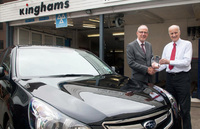 Kinghams Subaru scores a hat-trick at Croydon Business Awards