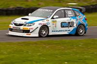 Subaru Pro-R Time Attack team rock Knockhill