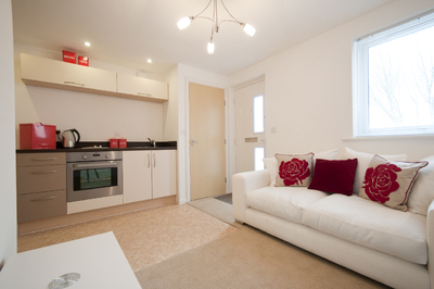 An Example Of One The Furnished Redrow Apartments At Debut Selby