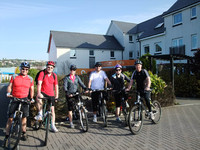 Barratt backs South Wales charity with cycle ride