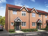 An artist's impression of the three-bedroom 'Barwell'