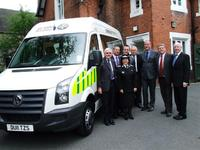 St John's Ambulance Staffordshire take delivery of new minibus
