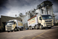 New Volvo FM eight-wheelers aid efficiency at HST Feeds