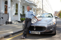Frankie Dettori rides 440 Maserati horses to his new restaurant