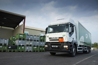 Iveco Stralis' lead the charge to recycle at G&P Batteries