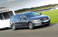 Passat demonstrates pulling power as it claims top towing gong