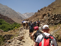 The rewarding trek to the summit of Toubkal