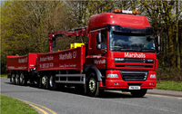 Flexibility and driver safety key features of Marshalls new DAFs