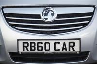 Richbrook Vauxhall Number Plate Surround Front