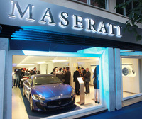 New Maserati showroom in Madrid