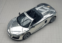 Unique Audi R8 Spyder reflects well on Sir Elton's party