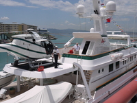 Lady's Day for superyacht at Ocean Village Marina
