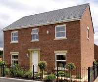 The Lynton show home is one of the final five homes for sale at Broughton manor, in Milton Keynes.
