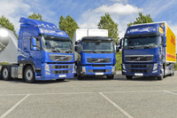 Considerable media interest in Volvo Trucks' alternative drivelines